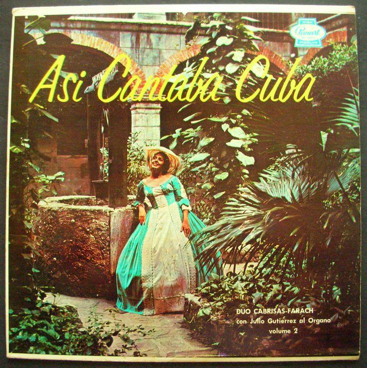 DUO CABRISAS-FARACH con JULIO GUTIERREZ al organo ASI CANTABA CUBA Vol. 2 #CubanSon