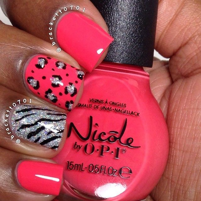 pink, animal print, glitter, all you need!