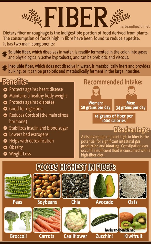 the significance of fiber foods to human health