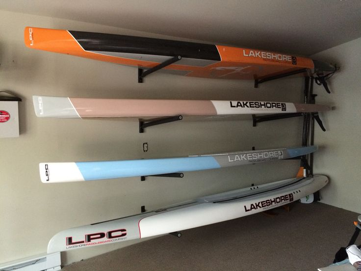 home and garage storage rack for race touring and surf