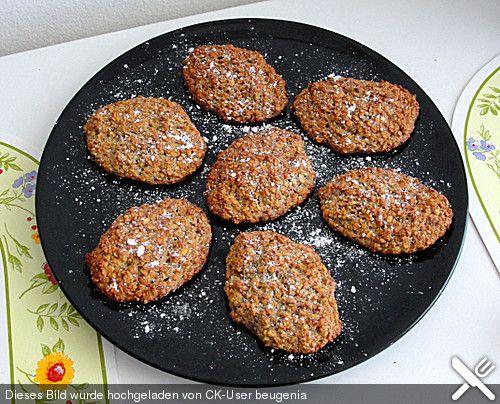 Vollkorn - Bananen - Kekse ohne Zucker und Fett (Rezept mit Bild) | Chefkoch.de