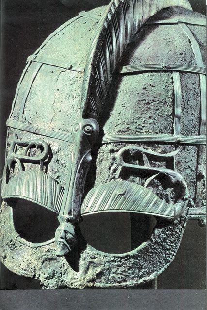 Helmet from Vendel Cemetery, Grave I, Sweden