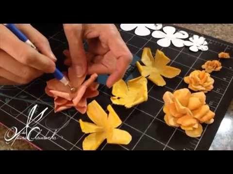 Video tutorial Rosa Flor Scrap Filtro de café                                                                                                                                                                                 Mais