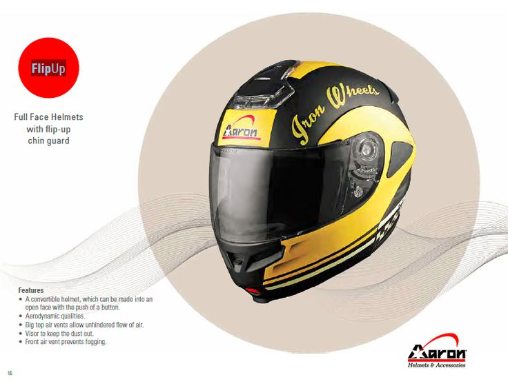 Buy Flip Up Helmets online at the best prices from Aaron helmets, one of the best helmet manufacturers in India. check out here latest collection.