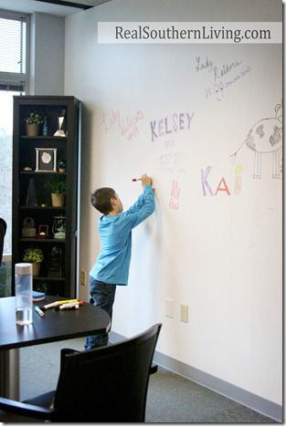 White board wall in work or home office whiteboardpaint for Best home decor pinterest boards