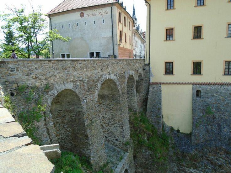 Most v Českém Krumlově