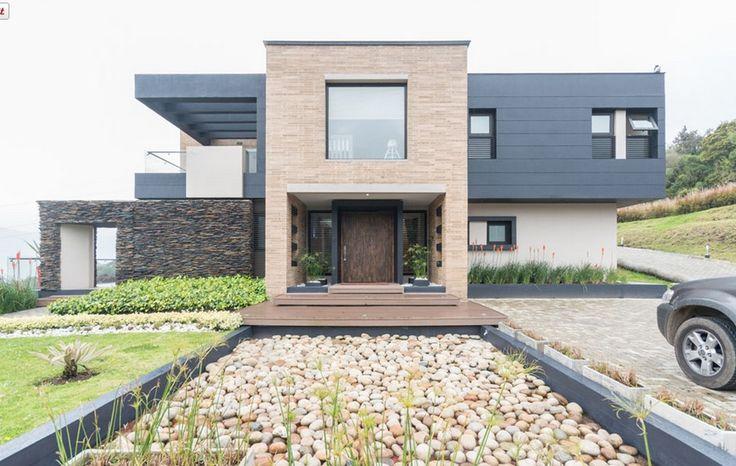 Casa 52 Fachada Norte #bosquesdelencenillo #casaslacalera