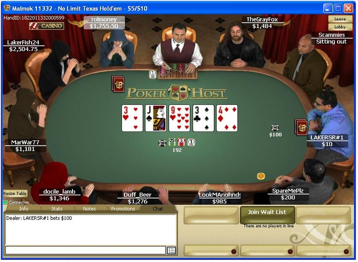 Poker Host was launched in 2004 and became part of the Merge Gaming Network in 2010. Poker Host runs on a customized version of the Merge Gaming software. The traffic at Poker Host is increased as they share with the online poker rooms within the network.  http://www.latestpokerbonuses.com/poker-rooms/poker-host/