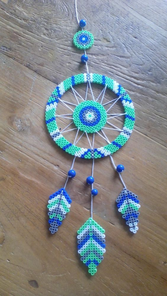 Fuse beads pattern, you can have a try with #Beebe…