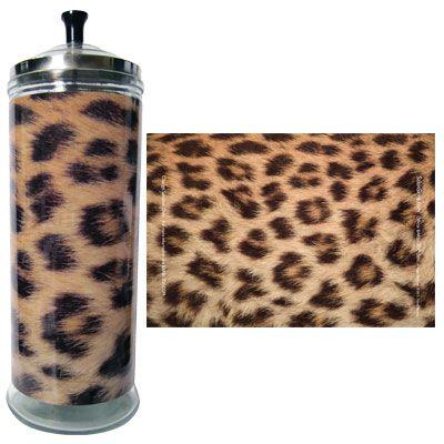 Salon Skins Decorative Barbicide Jar Wrap: Cheetah $13.99