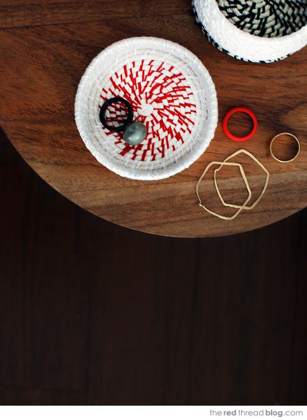 Подробный мастер-класс по handmade вазочкам из бечевки - сделай поделку своими руками!