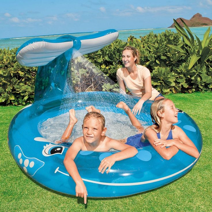Intex Whale Spray Pool on Sale for $11.95 (Reg. $20) Shipped