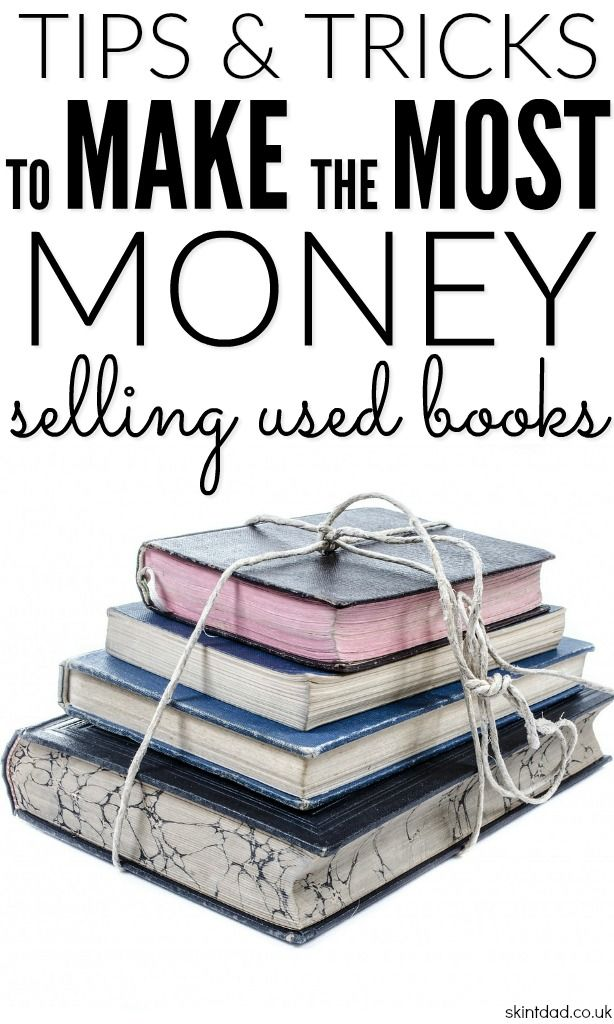If you're looking for a way to make extra money, there is an easy way to make a regular passive income by selling second hand books online.
