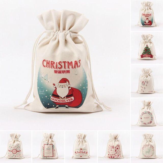 Рождественский Подарок Сумка Бытовая Сумка Для Хранения конфеты сладкие Перетягивание Каната Мешок подарок организатор A2