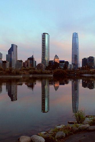 Parque Bicentenario, Santiago, Chile.