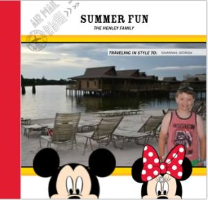 Grab your FREE Shutterfly Photobook for Your Disney Vacation!