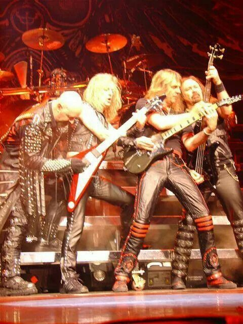 "The Metal Gods...Judas Priest! They gave heavy metal an image, a sound and one hell of a show! ""I wanna go...Hot Rockin'!!!"""