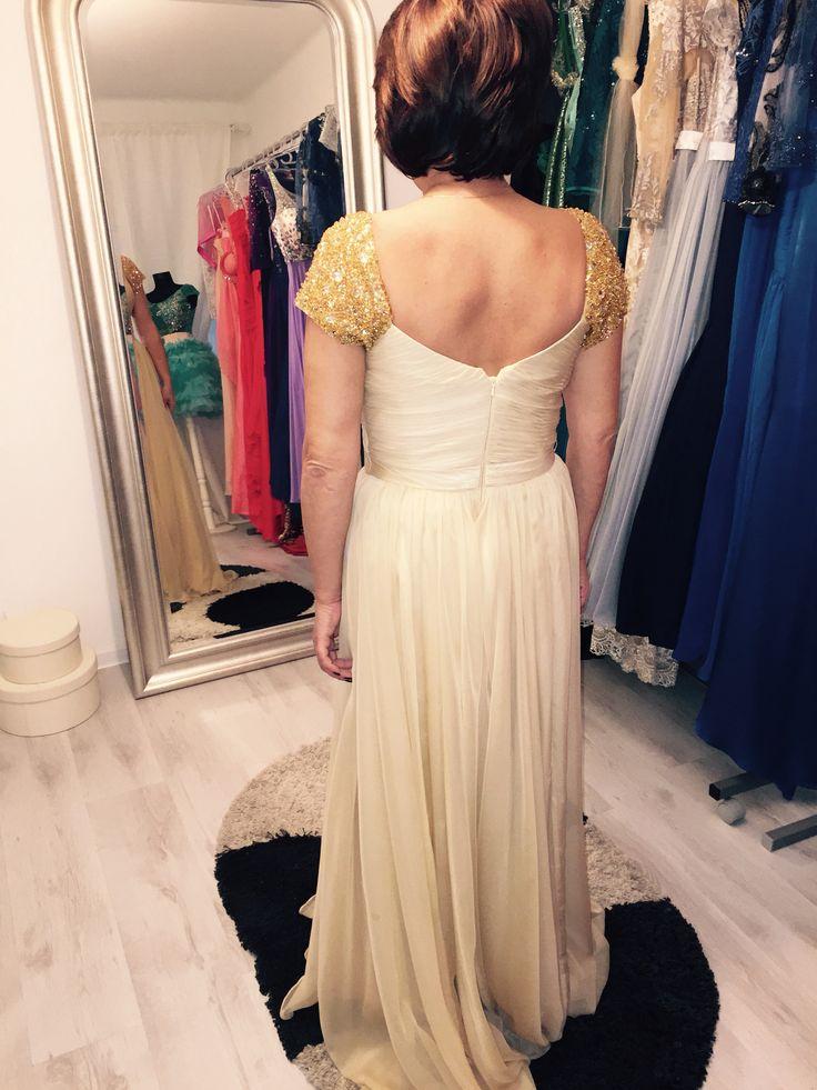 Proba finala rochie custom Schimbare culoare