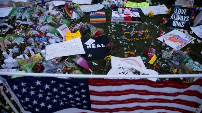 Memorial in Orlando