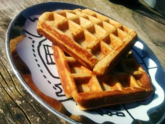 Amandelmeel wafels - Online-kookboek.nl