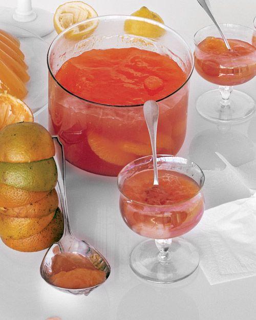 cocktail campari and orange sorbet fresh grapefruit campari cocktails ...