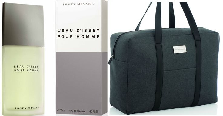 Spoil your man with a free Travel Bag, when you purchase any large size Issey Miyake Mens fragrance (so from 100ml size) at Edgars and Red Square stores ONLY!!!