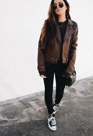 Cute edgy outfit!