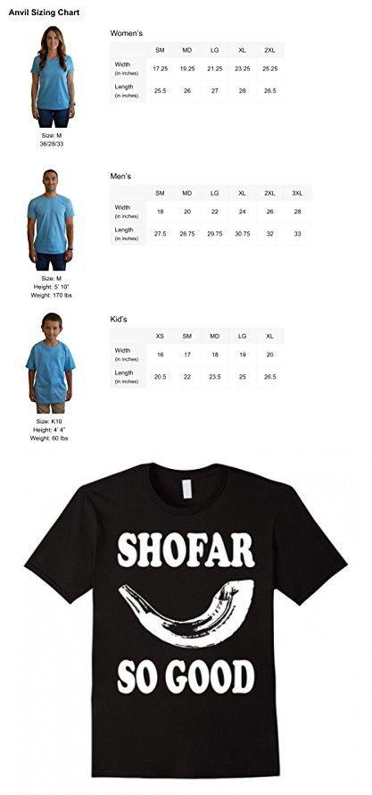 Men's Shofar So Good Rosh Hashanah Jewish New Year Gift T- Shirt XL Black