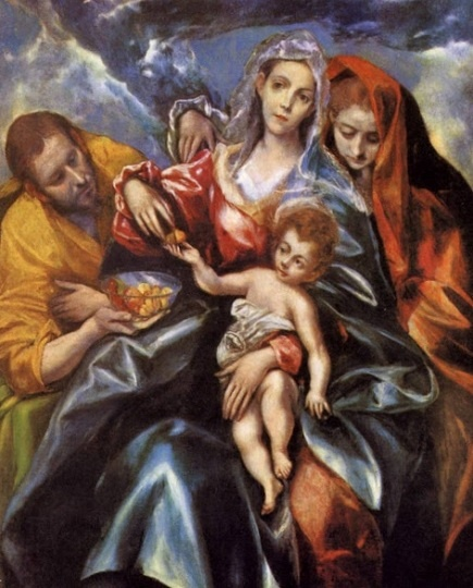 El Greco: Sagrada Familia.