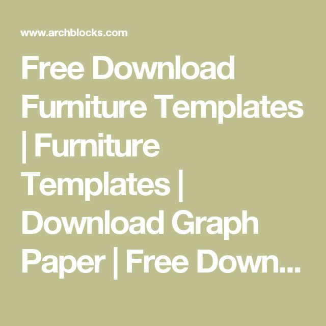 23 free graph paper template images printable furniture