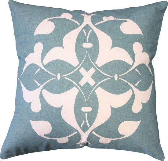 Mulberi Oliver Cushion - Blue