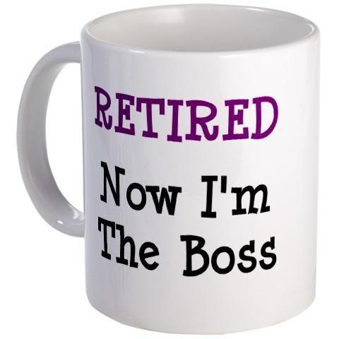 funny retirement message | Pastor Retirement Gifts - Retirement Coffee Mug
