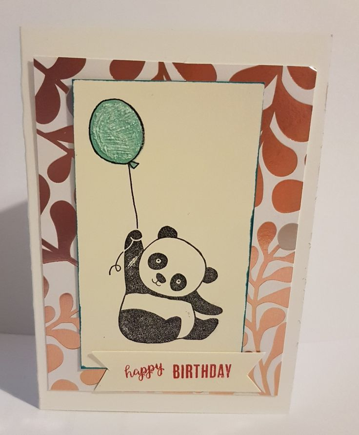 ORDER STAMPIN' UP! ONLINE HERE - Party Pandas FREE during Sale-a-bration.  Find out more at www.stampinwithsarah.com