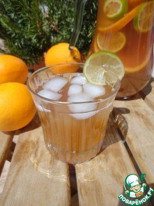 4 идеи холодного чая