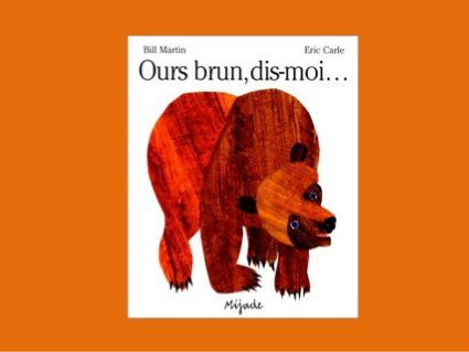 Ours brun, dis-moi... slideshare of entire story in French