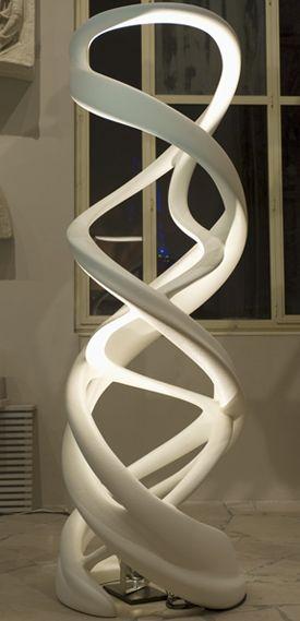 """Zaha Hadid """"Christmas Tree"""", 2008 - no it's not! It's a lamp!"""