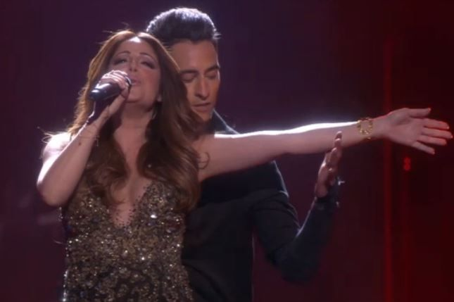 """Ira Losco (Malta) singing """"Walk On Water"""" in semi-final 1 was a sure thing to get through to the Eurovision 2016 grand final"""