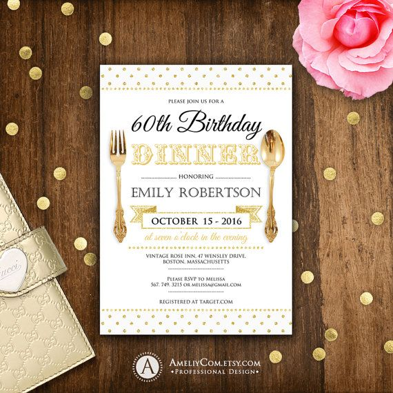 Best 25+ Birthday dinner invitation ideas on Pinterest Guy - dinner party invitation sample