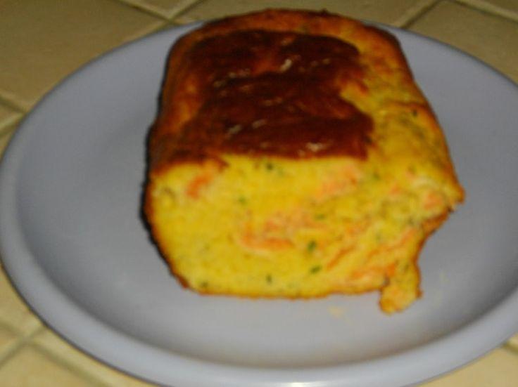 Cake saumon-ciboulette
