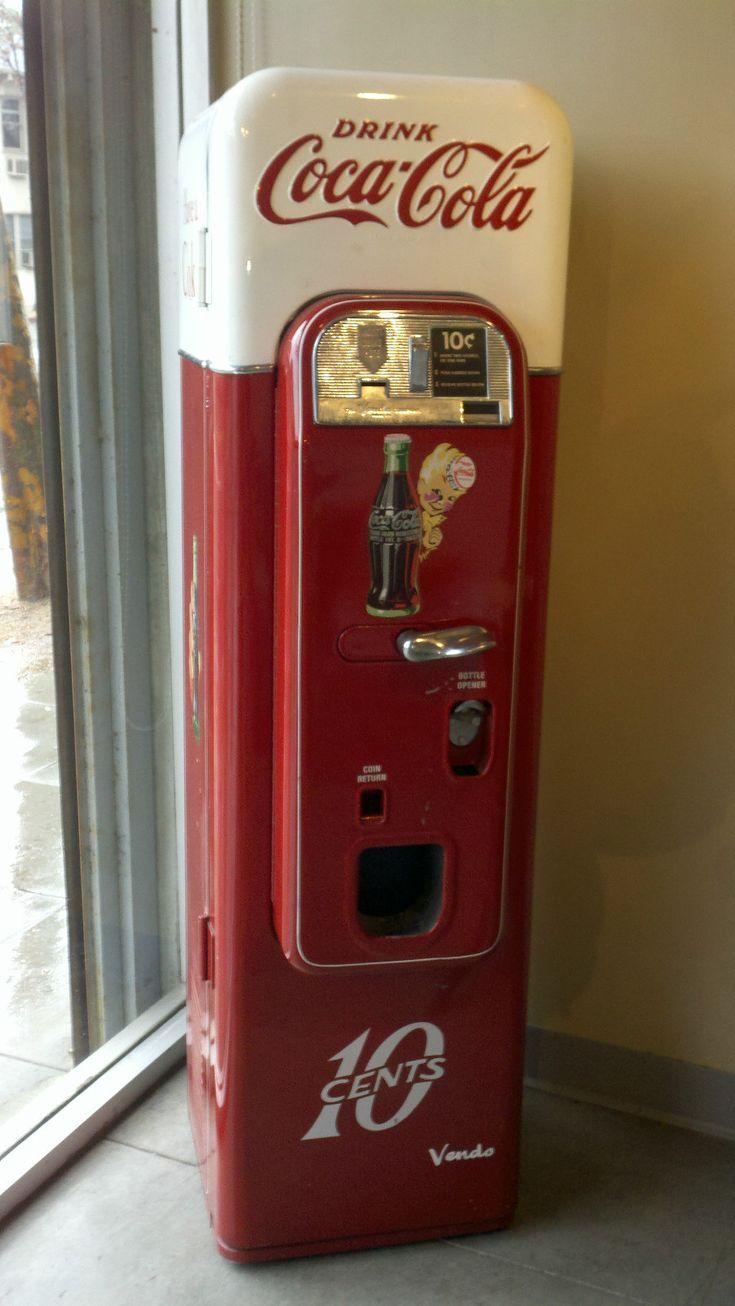 Restored Vintage Coca Cola Vendo Model 44 Machine | eBay
