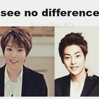Moonbyul and Xiumin~ they have the same smile ♡♡♡♡♡ this might be part of the reason I am falling for MAMAMOOOOOOO♡