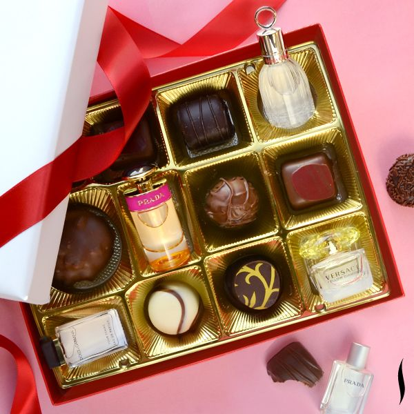 Who likes their #Vday treats bite-size? #Perfume #Sephora
