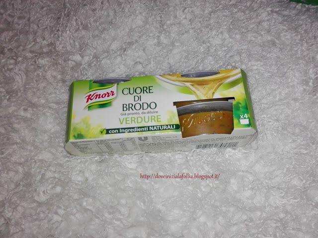 DoveIniziaLaFollia: #1 Lasagne Agli Asparagi Selvatici con Cuore di Brodo Knorr Verdure - Per 6 persone