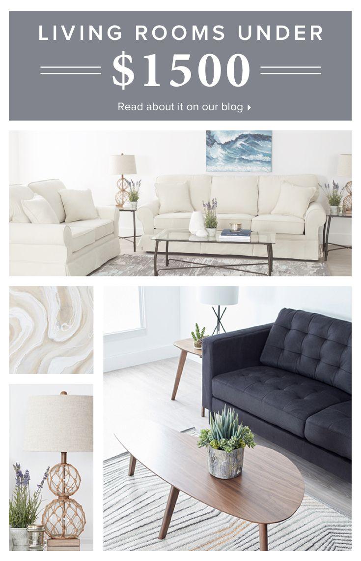 Living Room Package Deals Under $1,500   Living room essentials ...