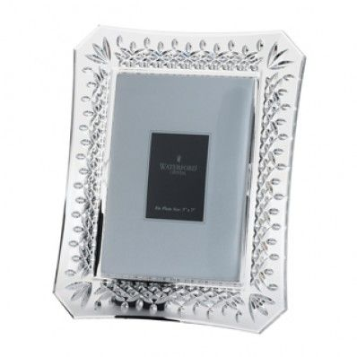 Waterford Crystal Lismore 5 x 7 Frame. Available on http://www.standun.com/waterford-crystal-lismore-5-x-7-frame.html