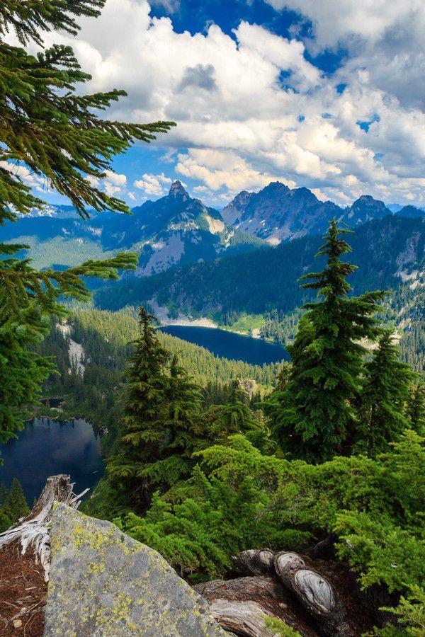 Granite Mountain, Washington State. USA