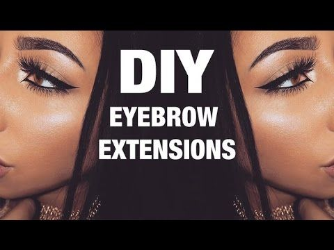 This Blogger Found A Way To DIY Eyebrow Extensions | SELF