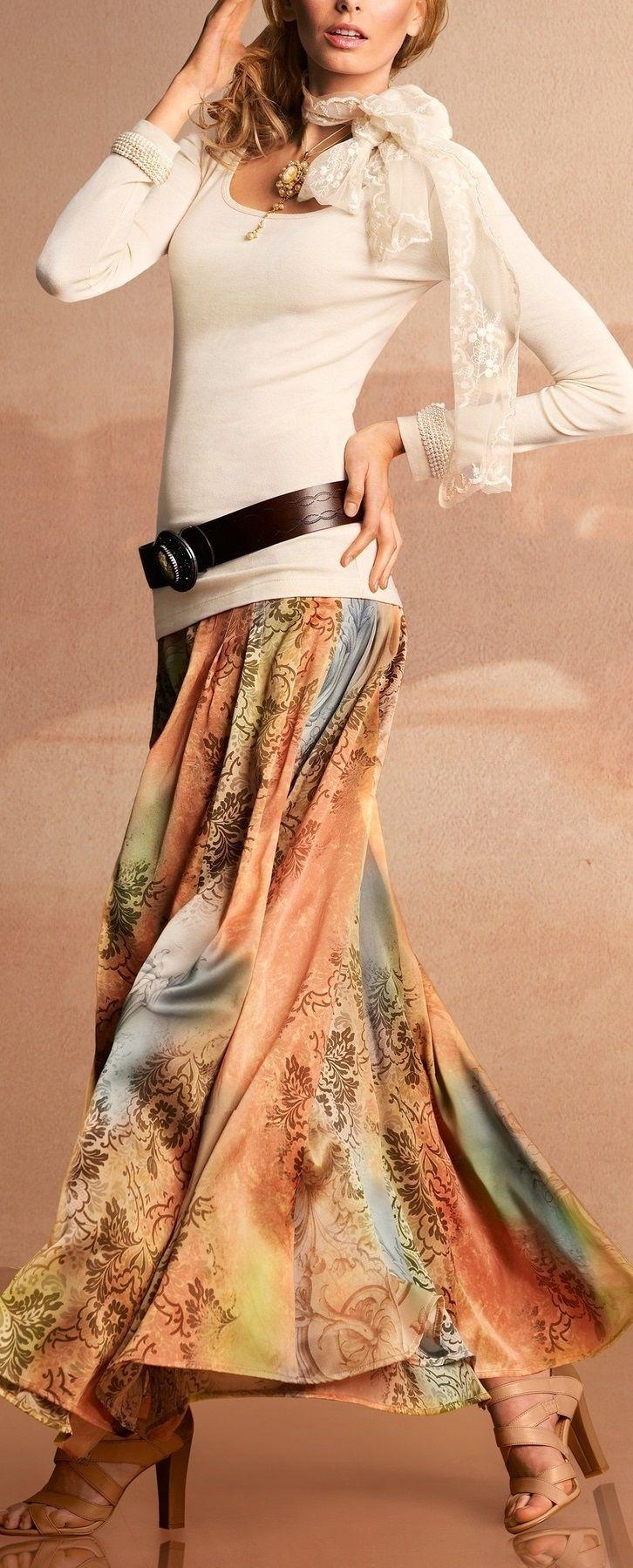 long skirt ... THIS IS TOOOOO  LOVELY !!!!