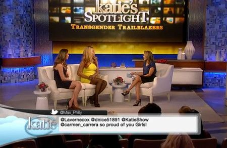 Laverne Cox Remembers Islan Nettles While Schooling Katie Couric