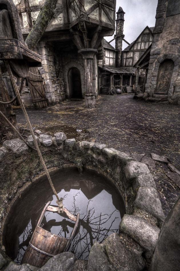 Hansel & Gretel: Witch Hunters - Augsburg  Abandoned film set near Berlin.